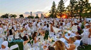 white dinner NY
